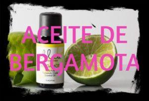 aceite esencial de bergamota