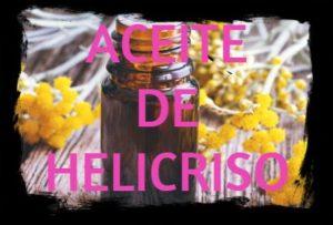 aceite esencial de helicriso