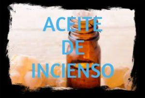 aceite esencial de incienso