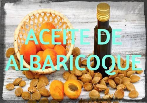 aceite de albaricoque