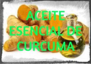 aceite esencial de cúrcuma