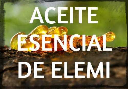 Aceite Esencial de Elemi: Propiedades, usos y beneficios