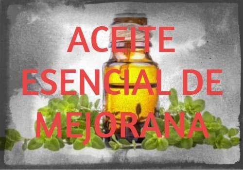 aceite esencial de mejorana