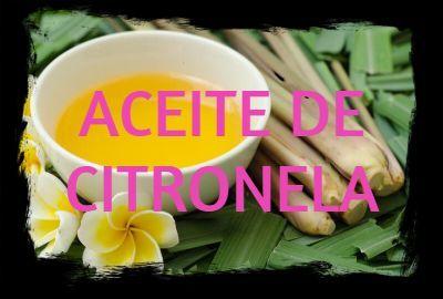 Aceite Esencial de CITRONELA: Un gran repelente natural de insectos