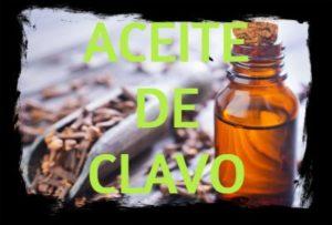 aceite esencial de clavo