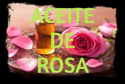 aceite esencial de rosa