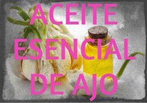 aceite esencial de ajo