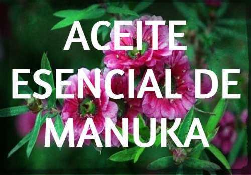 aceite esencial de manuka