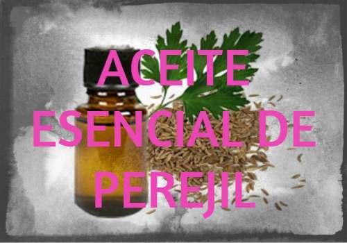 aceite esencial de perejil