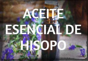 aceite esencial hisopo