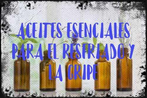 aceites esenciales para el resfriado y la gripe